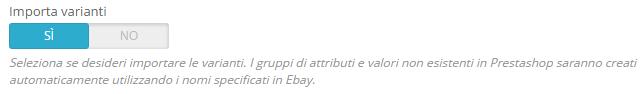 fastbay import varianti