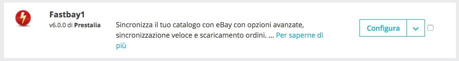 installazione fastbay 1.7